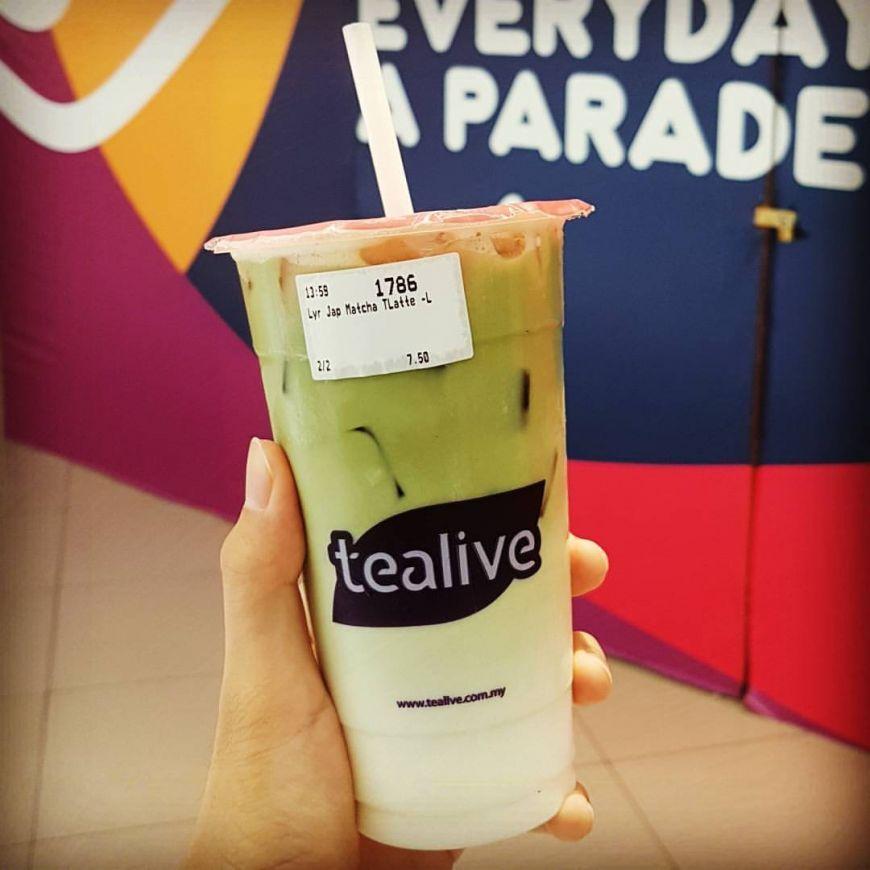 整个12月!Tealive一杯只需要RM4.50!全马分行都有哦!